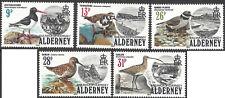 ALDERNEY 1984 BIRDS (5) Unhinged Mint SG 13-18