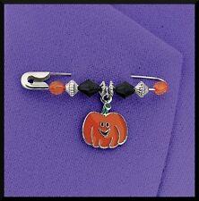 Halloween Enamel Charm Pin Craft Kit Pumpkin ABCraft Kids Jack o Lantern Favor