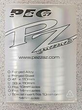 Pazzaz CrMo Pegs Chrome 93703 Brand New!!