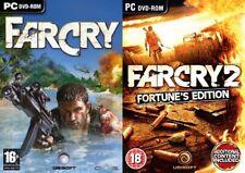 far cry 1 & farcry 2 fortunes edition & far cry 3
