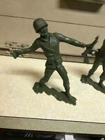 Louis Marx 1963 WWII American Soldiers Lot of 3