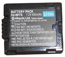 Genuine Hitachi DZ-BP7S Original Battery CGA-DU07 DU06 DU12 DU14 VWVBD120 VBD140