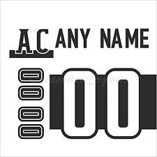 CHL Blainville-Boisbriand Armada White Jersey Customized Number Kit un-sewn