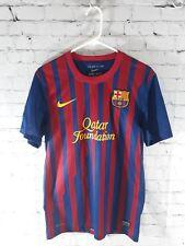 FC BARCELONA 2011》2012 ORIGINAL! T SHIRT JERSEY CAMISETA era INIESTA XAVI - NIKE