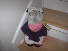 "12"" Aunt Lucy Paddinton Bear With Outfit, Rubber Boots, & Tags By Eden Toys 1975"