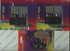 Kawasaki Disc Brake Pads ZR400 Zephyr 1997-1998 & 2000-2008 Front & Rear (3sets)