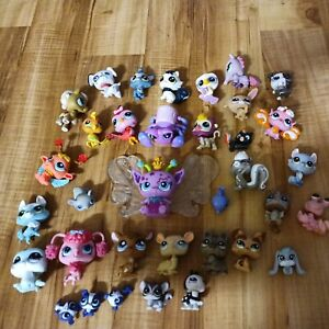 Lot of 21 LPS My Little Pet Shop Animals Figures Dogs  and Cats FREE USA SHIPPIN