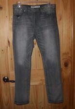 Express   Gray  JEANS    size 36 X 32    Rocco   SlimFit   Skinny Leg    LOT7096