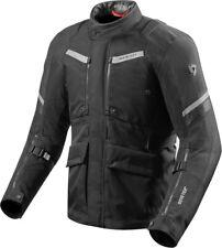 Rev'it Neptune 2 Gore-Tex Waterproof Motorcycle Motorbike Textile Jacket - Black