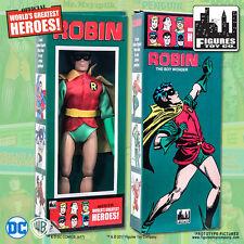 DC Comics Robin 8 inch Action Figure in Retro Box
