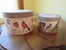 2 Song Bird Nesting Boxes With Removable Tray By Colorbok