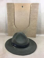 "VTG Boy Scouts of America ""Leader"" Wide Brim Hat Size 7 - Be Prepared"