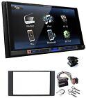 Kenwood DMX100BT 2 DIN Autorradio Bluetooth USB MP3 LCD 6.8 para Ford C S Max