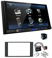 Kenwood dmx100bt 2DIN AUTORRADIO BLUETOOTH USB MP3 LCD 6.8 para Ford Fiesta