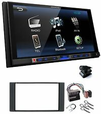 KENWOOD dmx100bt 2din AUTORADIO BLUETOOTH USB mp3 LCD 6.8 per FORD FIESTA FUSION