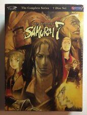 AKIRA KUROSAWA'S SAMURAI 7  - The Complete Series - 7 Disc NEW SEALED DVDS!! OOP