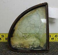 OEM Pontiac LH Left Rear Seat Stationary 1/2 Vent Window 1936 Silver Streak(FB4)