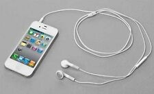 White Color 3.5mm Earbuds Earphone Headset Remote Micphone For Apple iPhone iPod