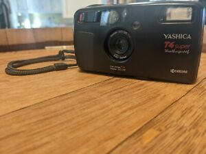 Yashica T4 Super Weatherproof Carl Zeiss lens point and shoot 35mm camera