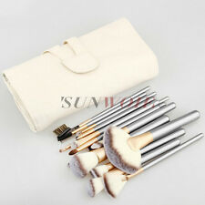 Make Up Brush Set 24PCS Professional Powder Foudation Silvery Beauty Tools