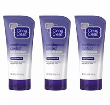 3 CLEAN - CLEAR Continuous Control Acne Cleanser 5 oz Each