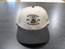Williamsport Crosscutters Strap Back Hat Cap New York Penn League Champions