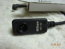 Cable de Adaptador Nikon MC-25 conexión remota para F5 F100 N90. Reino Unido stock mc25