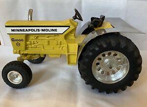 Minneapolis Moline G-1000 Mighty Minnie Puller Tractor w/ MUD SHIELD 1/16 ERTL