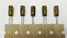5x Nichicon Muse Fg 10uf 50v Fine Gold Audio Grade Capacitor Usa Seller