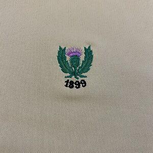 Peter Millar Summer Comfort Performance Polo Golf Shirt Medium Garden City Golf