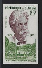 1975 Senegal Scott #413a - Imperf 85fr Dr. Albert Schweitzer Stamp - MNH