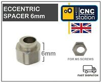Eccentric Spacer 6mm for 5mm screw V-slot Solid V wheel CNC 3D Printer C-BEAM UK