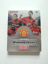 PES Winning Eleven 2013 Manchester United PS3 Steel Book Case Only No Game