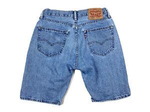 Levi's 505 Size 30 Jean Shorts Denim Blue Mens