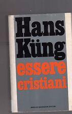 hans kung - essere cristiani -