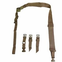 NcSTAR Tan Two Point Tactical Hunting Adjustable Sling Strap Gun Rifle AARS2PT