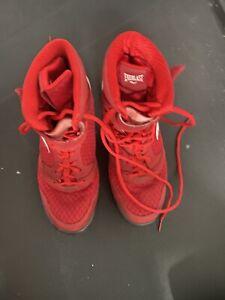 EVERLAST Kick-Boxing MMA Elite Boxing Shoes MICHELIN Black, Red, Blue