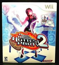 NEW! Wii Dance Dance Revolution Hottest Party 2 - INCLUDES GAME + CONTROLLER PAD