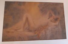 Nudo di Donna Liberty primi 900 Delicatissimo Pastello Firmato