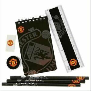 OFFICIAL MAN UTD FC STARTER STATIONERY SET, MUFC, RED DEVILS