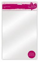 PAPERMANIA OVEN BAKE A4 CLEAR SHRINK PLASTIC SHEETS - Pack of 10