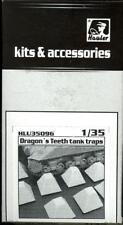 Hauler Models 1/35 DRAGON'S TEETH TANK TRAPS Resin Set