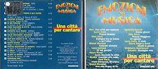 CD -  DE AGOSTINI EMOZIONI IN MUSICA - UNA CITTA' PER CANTARE              (500)