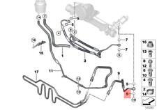 Genuine BMW 5Pcs Gasket Ring MINI X1 X3 X5 X6 Cooper One E32 E60 07119906463