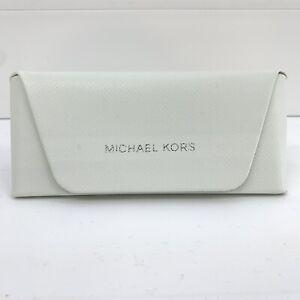 Michael Kors White Hard Case SUNGLASSES/EYEGLASSES Medium