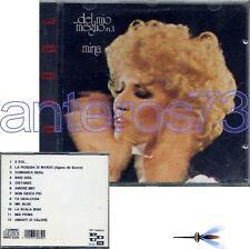 """MINA """"DEL MIO MEGLIO 3"""" CD RARA 1a STAMPA - SIGILLATO"""