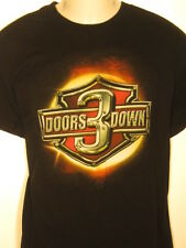 vtg 3 Doors Down The Road I'm On concert tour 2 sided tee t shirt L