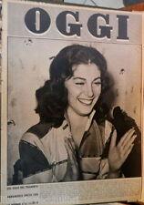 OGGI 22 luglio 1954 Annamaria Pierangeli Chiesa Russia Maria Fiori Fausto Coppi