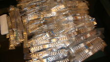 TRADE LOT JOB LOT OF 50 GENUINE MIX mans Stainless Steel WATCH STRAPs,,