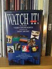 Michael Jackson – Black Or White Watch It! - Dez. 91 Promo Video VHS PAL